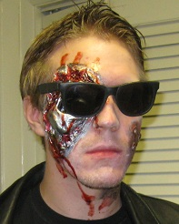 Terminator FX, Make Up, Prosthetic