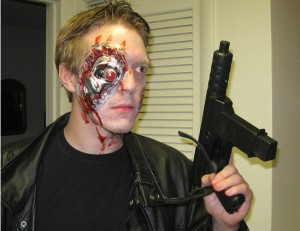 Terminator, Gun, Make Up Effects