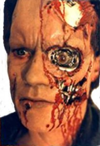 Terminator, Prosthetic, Make Up, Stan Winston