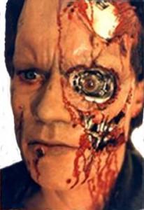 Terminator, Prosthetic, Make Up, Stan Winston